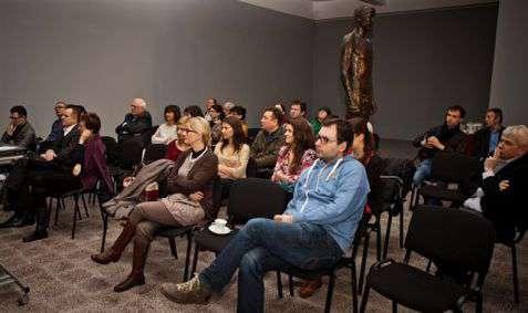 """Goście dyskusji panelowej wokół filmu """"Wybrany"""" (reż. Weronika Fibich, Adam Ptaszyński)"""