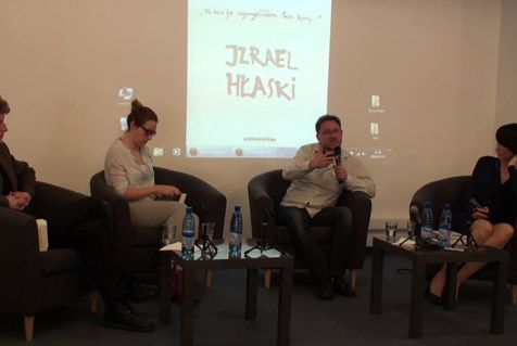 "Discussion with Piotr Weiser, the author of the book ""Hłasko's Israel"" (2)"