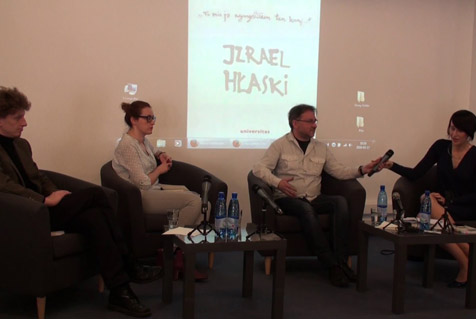"Discussion with Piotr Weiser, the author of the book ""Hłasko"